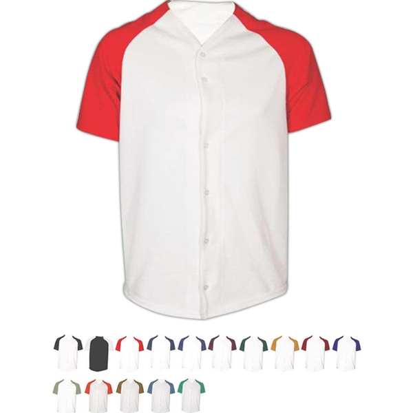 Adult & Youth Pro-Style Full Button Jersey