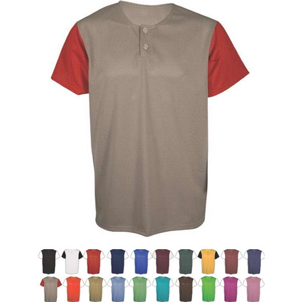 Adult & Youth 2 Button Placket Jersey