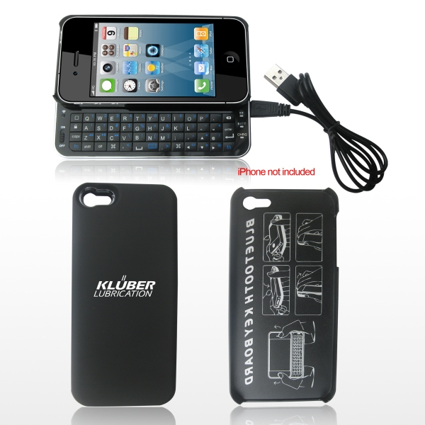 Ultra-thin Slide-out Backlit Bluetooth Keyboard For Iphone 5 Photo