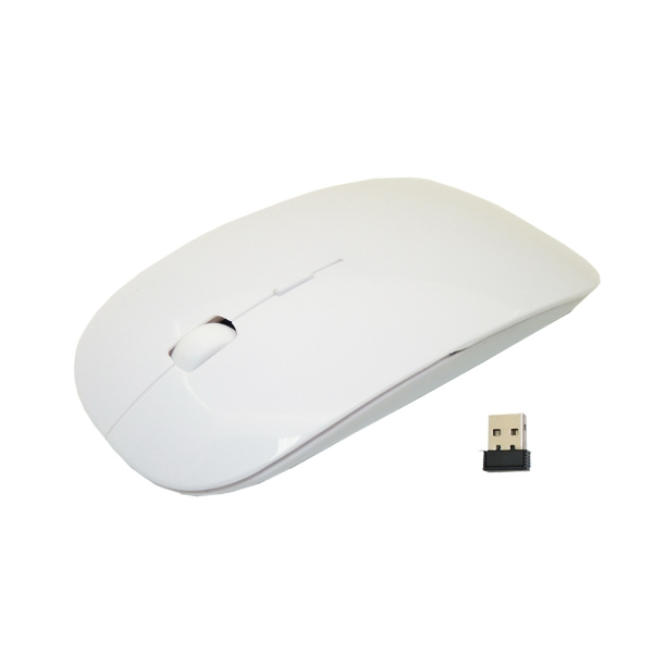 800DPI 2.4 GHZ  Wireless white Mouse/Mice