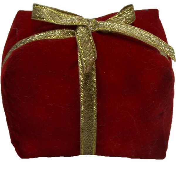 "3"" Red Christmas Gift Box"