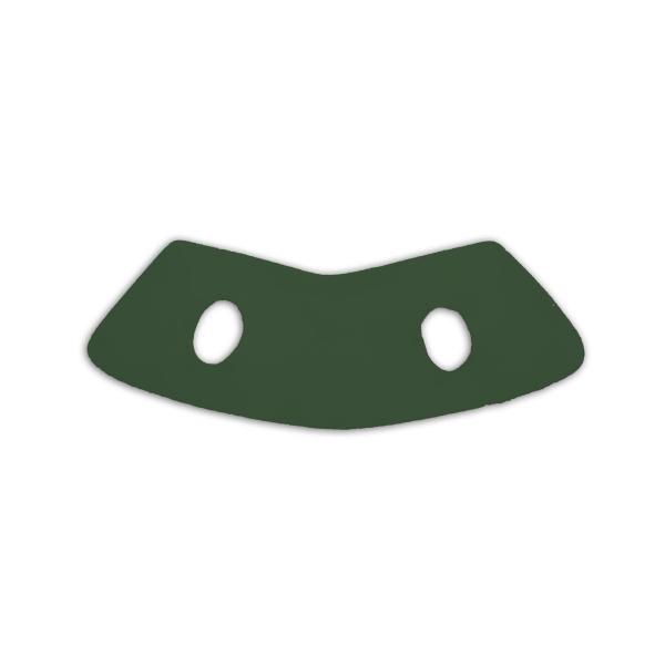 "7"" Hunter Green Flock Vest"