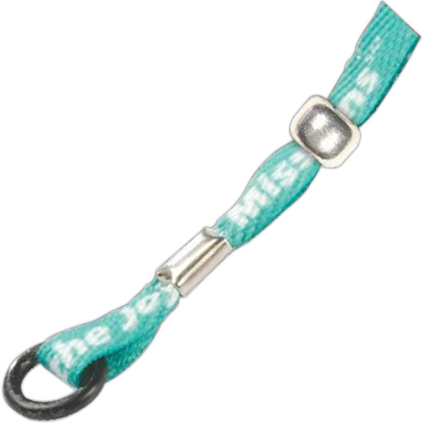 "Sublimated Lanyard With Metal Crimp, 3/8"" Width Photo"