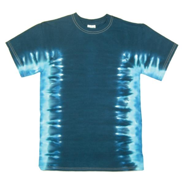 Youth Side Stripe Short Sleeve T-shirt Tie Dye