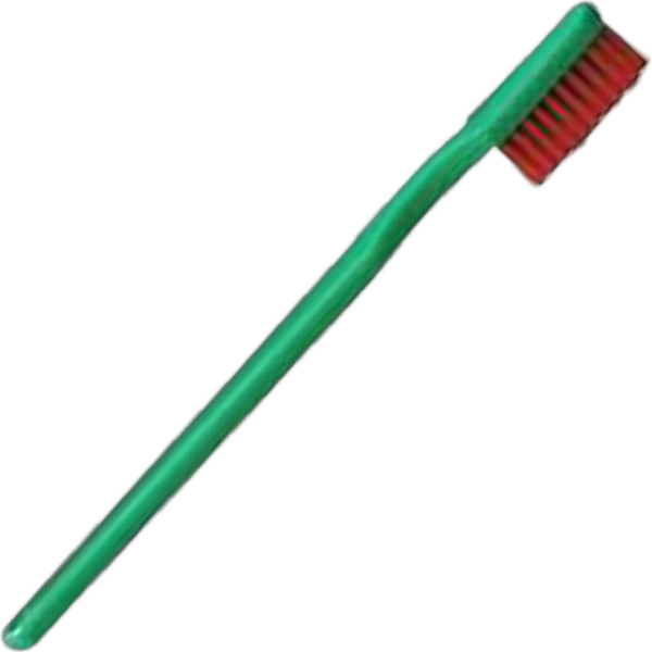 Christmas (2 Color Mix) - Adult Holiday 41 Tufts Toothbrush Photo
