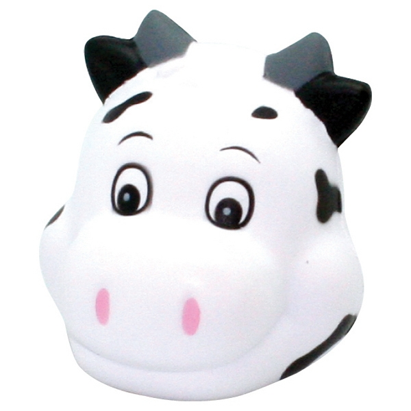 Squeezies (R) Cute Cow Head Stress Reliever