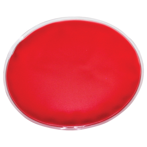 Red - Oval Chill Patch Filled With Cool Soothing Gel Photo