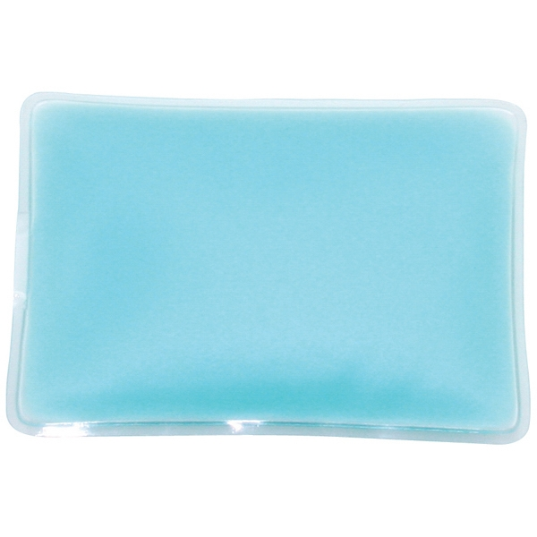 Blue - Rectangle-shaped Gel-filled Chill Patches Photo
