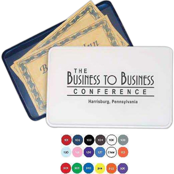 Business Card Case With Transit Passes And Membership Cards Photo