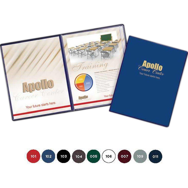 Two Pockets - Deluxe Presentation Folder With Pockets Photo