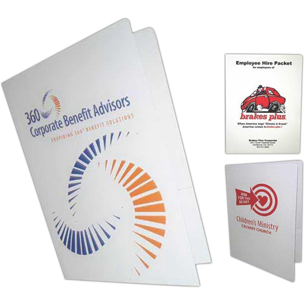 Spot Color 2 - Paper Presentation Folder With Spot Color Photo