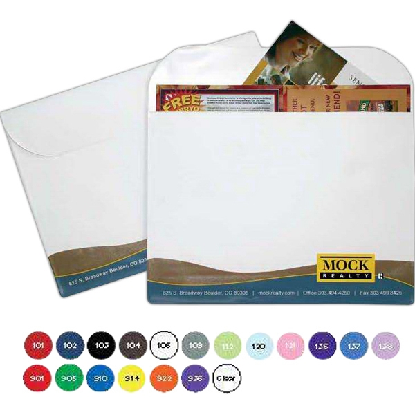 Large Size Portfolio With Flap Closure Photo