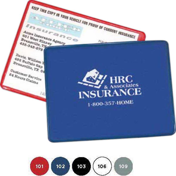 Proof Of Insurance Holder. Simple Design With A Lot Of Purpose Photo