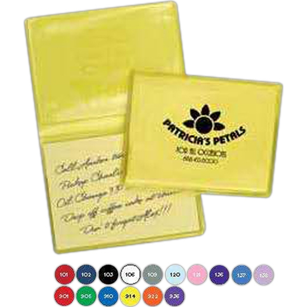 Notes Holder With Business Logo And Contact Information Photo