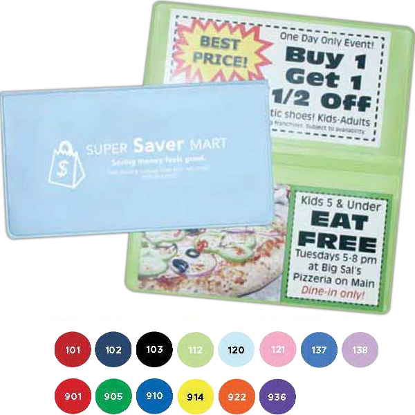 Coupon Holder Is Gift For Banks, Grocery Stores And Convenience Stores Photo