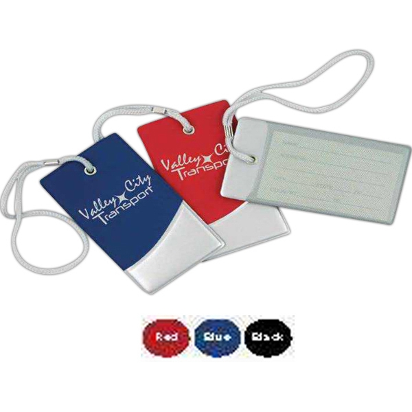 "Futurity - Vinyl Luggage Tag. 2 1/4"" X 4 1/4"" X 3/8"" Photo"