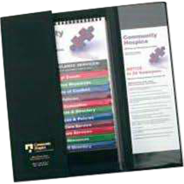Ez Reference (tm) - 12-pocket Folder - Flip Chart Folder With Pockets 6, 12, & 16 Photo