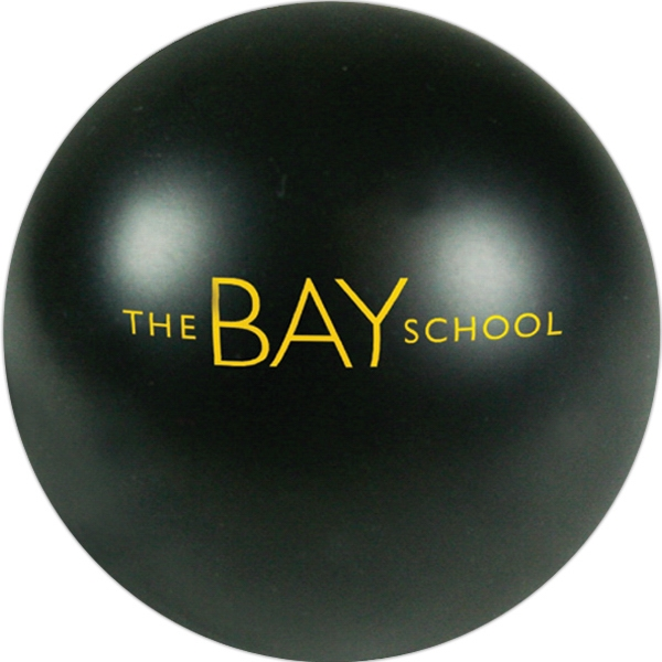 Squeezies (r) - Black - Stock Color Stress Ball Photo