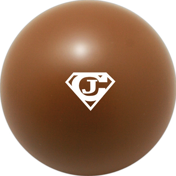 Squeezies (r) - Brown - Stock Color Stress Ball Photo