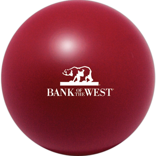 Squeezies (r) - Burgundy - Stock Color Stress Ball Photo
