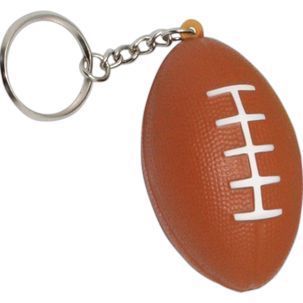Squeezies (R) Football Keyring Stress Reliever
