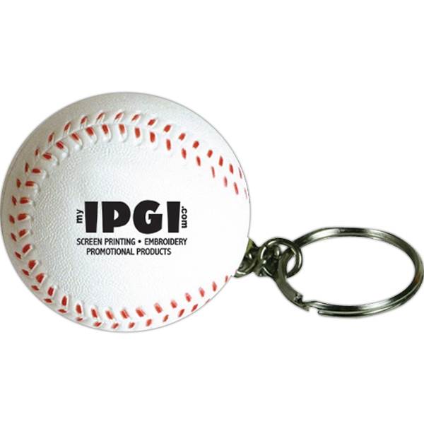 Squeezies (r) - Baseball Stress Reliever Ball With Key Holder Photo