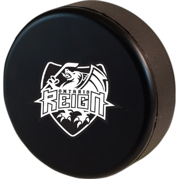 Squeezies (r) - Hockey Puck Shape Stress Reliever Photo