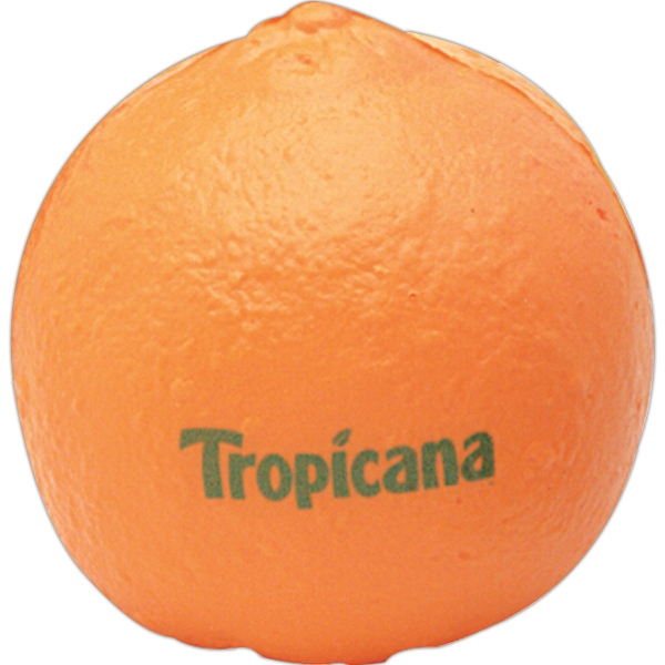 Squeezies (r) - Tangerine Fruit Shape Stress Reliever Photo