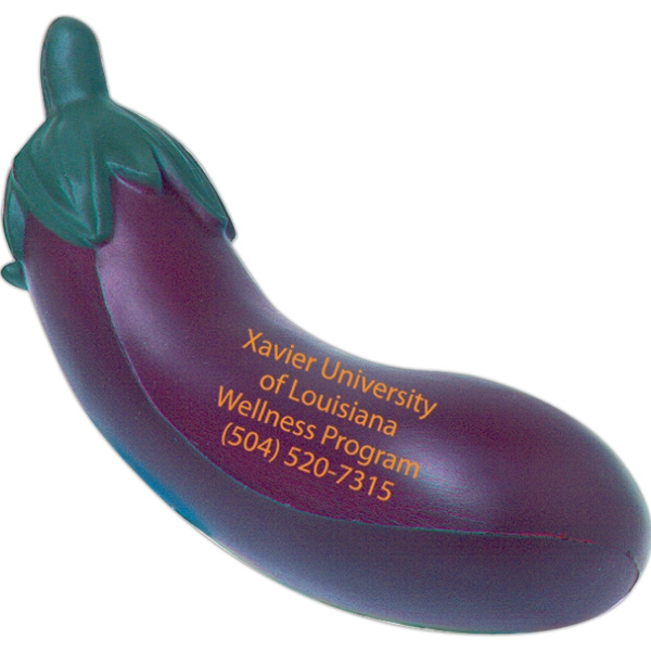 Squeezies (R) Eggplant Stress Reliever