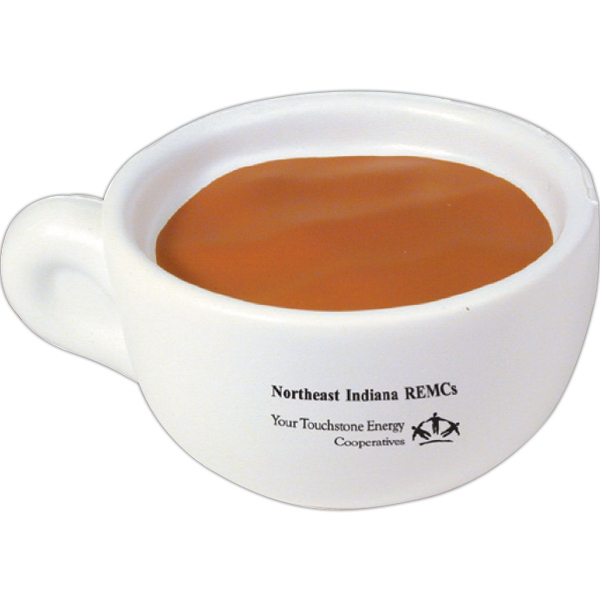 Squeezies (r) - Coffee Cup Shape Stress Reliever Photo