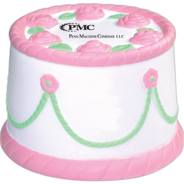 Squeezies (r) - Cake Shape Stress Reliever Photo