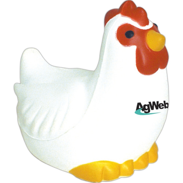 Squeezies (R) Chicken Stress Reliever