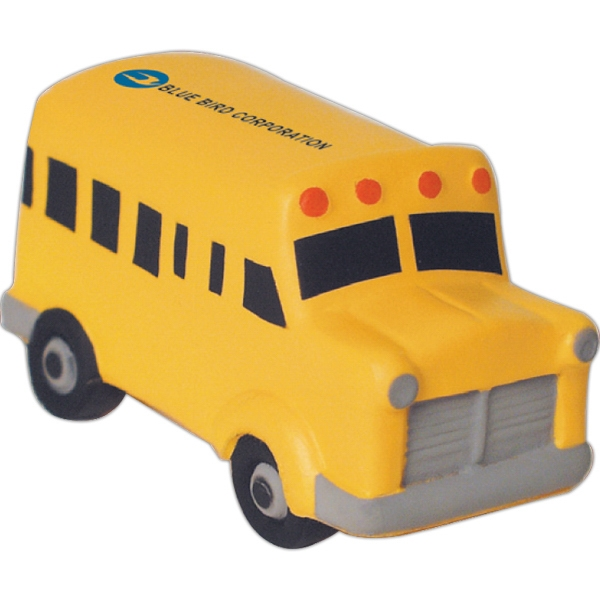 Squeezies (R) School Bus Stress Reliever