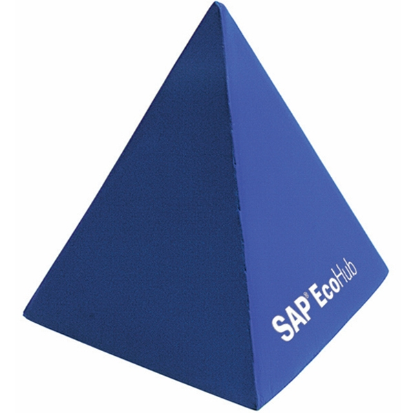 Squeezies (R) Pyramid Stress Reliever