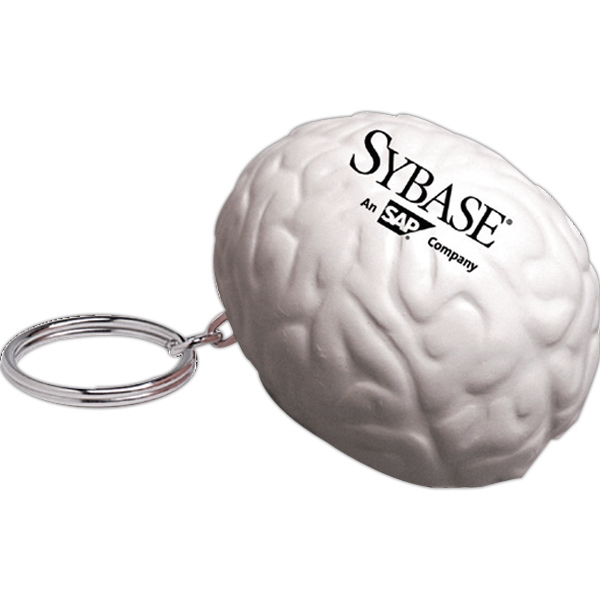 Squeezies (r) - Brain Shape Stress Reliever Key Holder Photo