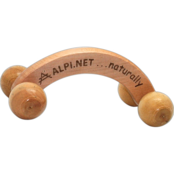 Wooden Massager. Eco-friendly Photo
