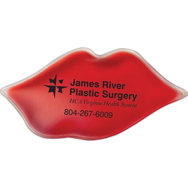 Lips Shaped Chill Patch Filled With Cool Soothing Gel Photo