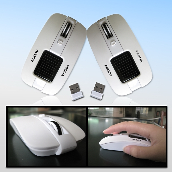 Solar Powered Wireless Mouse Photo