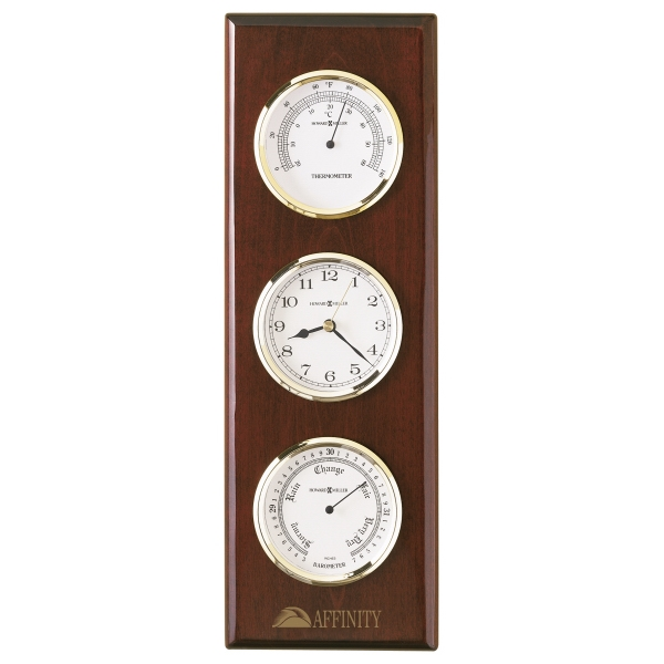 Shore Station - Weather Station Wall Clock Combines A Clock, Barometer And Thermometer Photo