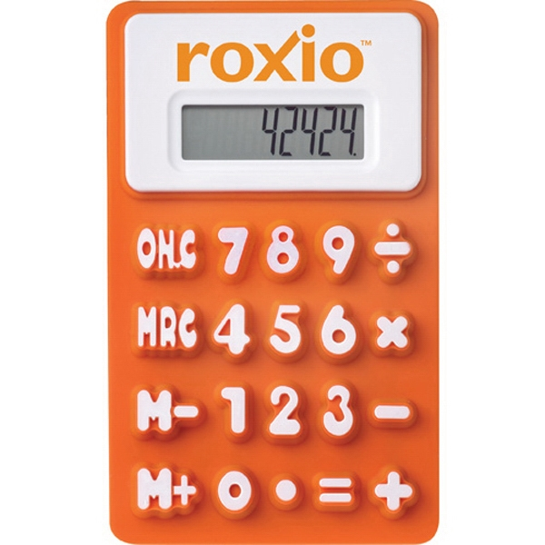 The Flex - Flexible Rubberized Calculator, Raised Numbers And Memory Functions Photo