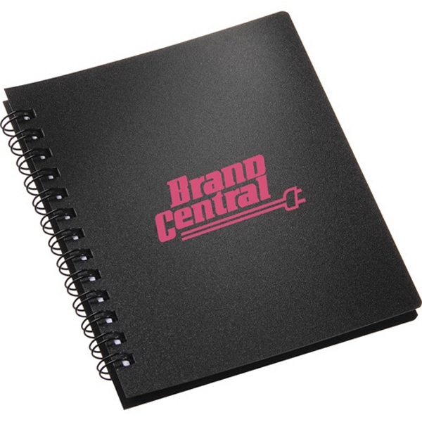 The Duke - Spiral Notebook With Polypropylene Cover. Spiral Notebook With 50 Ruled Pages Photo