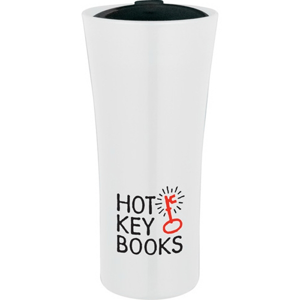 Torch - Double-wall Construction 18 Oz Tumbler. Push-on Lid With Slide-lock Drink Opening Photo