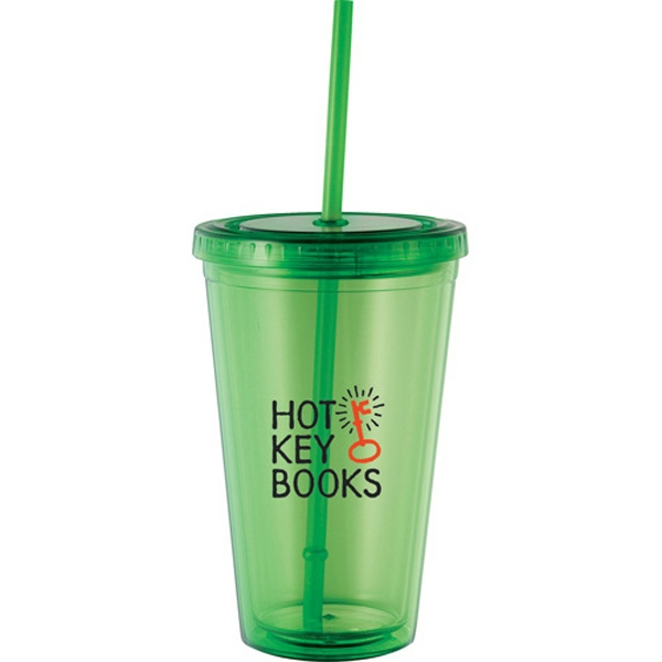 Cyclone - 16 Oz Tumbler With Straw Photo