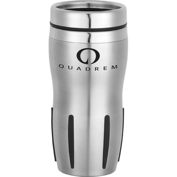 Brevard - 16 Oz Stainless Steel Travel Tumbler. Double-wall Construction Photo
