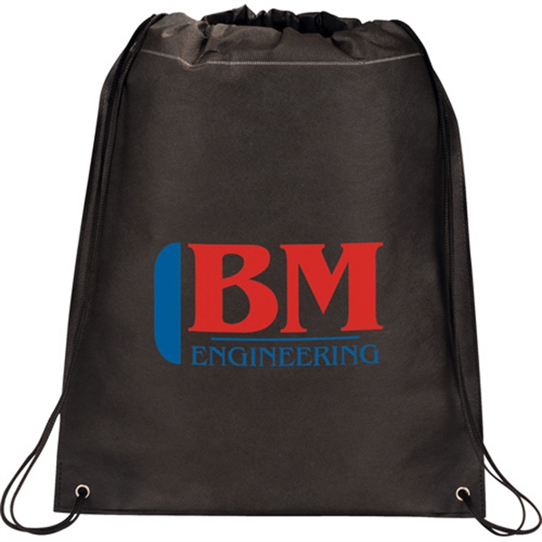 Out To Lunch - Drawstring Cinch Backpack Made From 80g Non-woven Polypropylene Photo