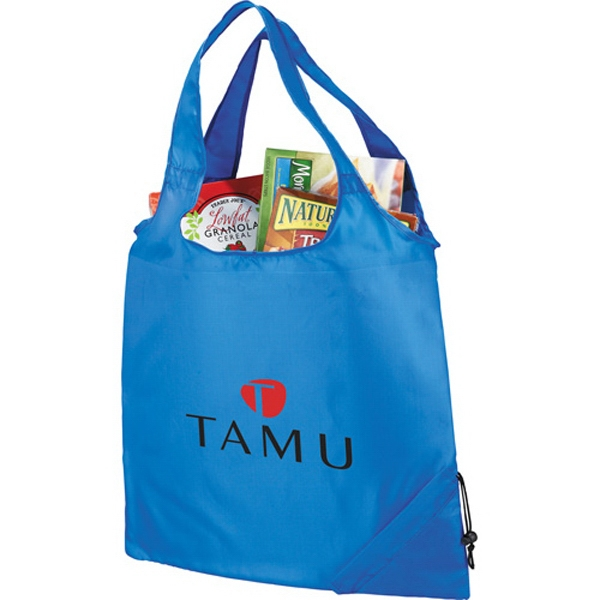 Bungalow Foldaway - Tote Bag Made Of 210 Denier Polyester Photo