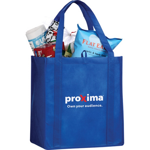 "Little Juno - 80g Non-woven Polypropylene Tote Bag, 22"" Double Reinforced Handles Photo"
