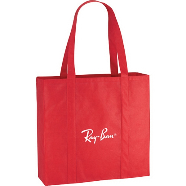 "Willow - Non-woven Polypropylene Tote Bag. 25 1/2"" Double Handles Photo"