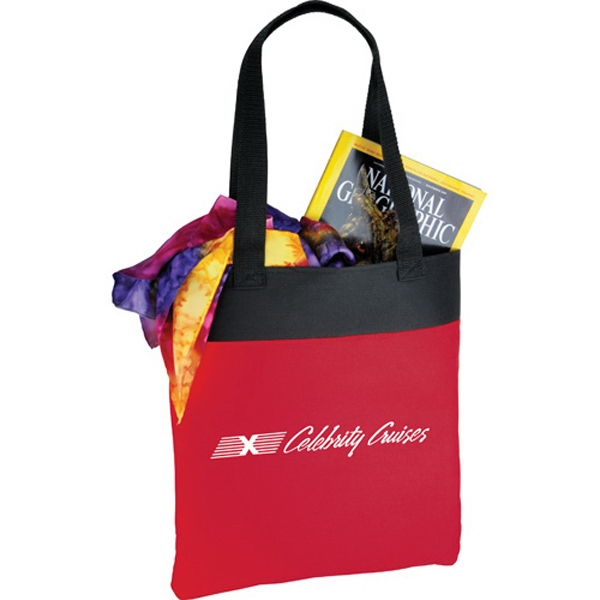 "Polycanvas Tote Bag With 24"" Double Handles Photo"