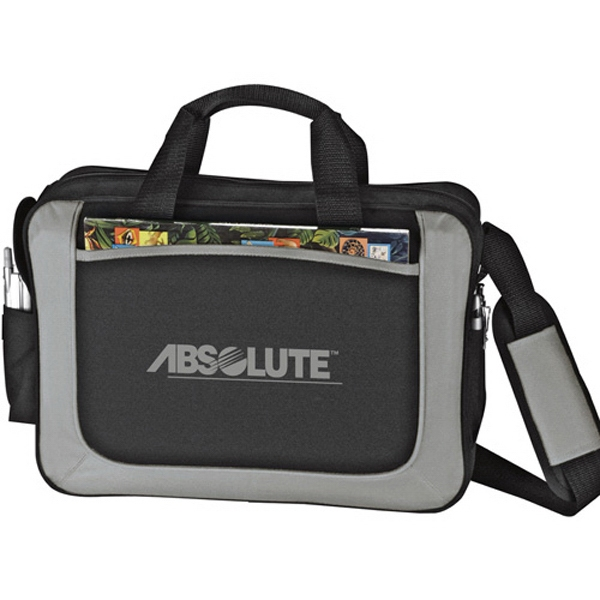 Dolphin - Briefcase In 600 Denier Polycanvas With Main Zippered Compartment Photo